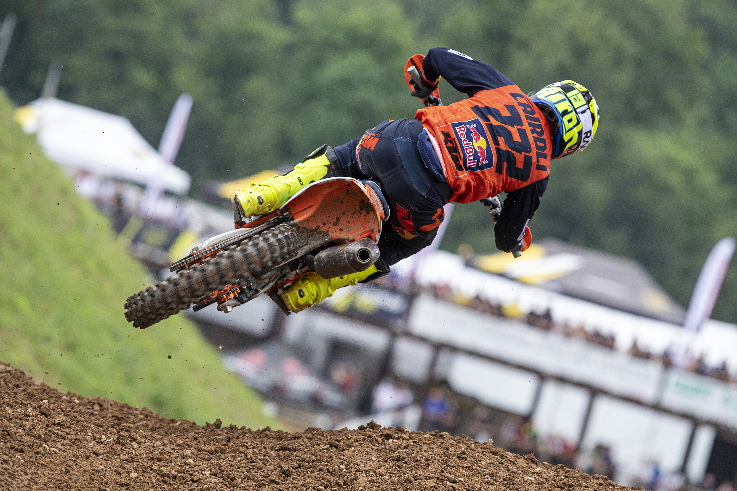 Cairoli ended up third overall at his home Grand Prix earlier this year.
