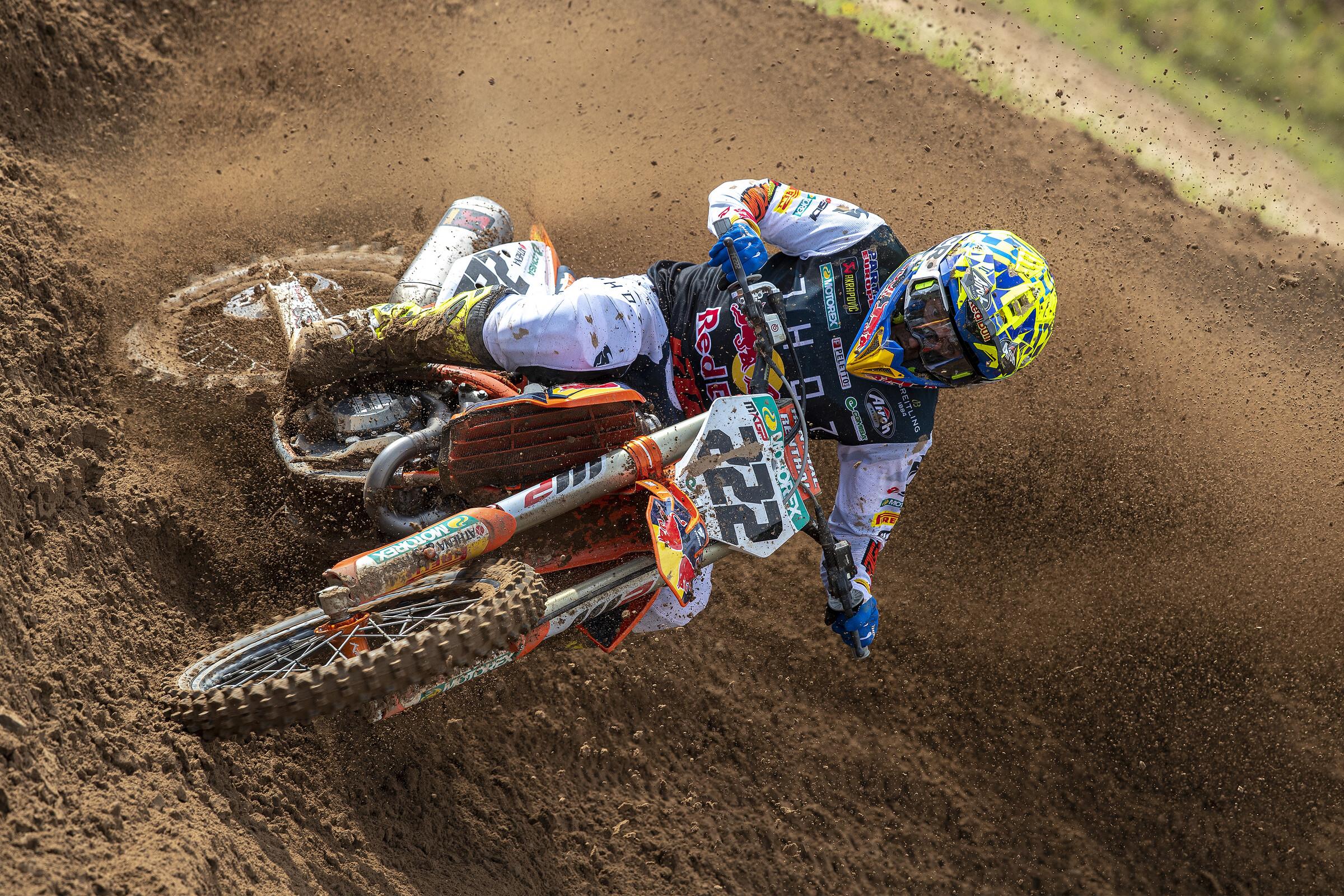 Cairoli at the MXGP of Latvia